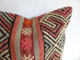 Embroidered Kilim Pillow Cover - Sophie's Bazaar - 3