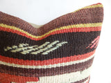 Embroidered Kilim Pillow Cover - Sophie's Bazaar - 2