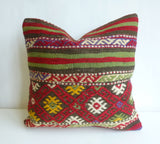 Beautiful Embroidered Kilim Pillow Cover - Sophie's Bazaar - 2