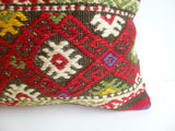 Beautiful Embroidered Kilim Pillow Cover - Sophie's Bazaar - 3