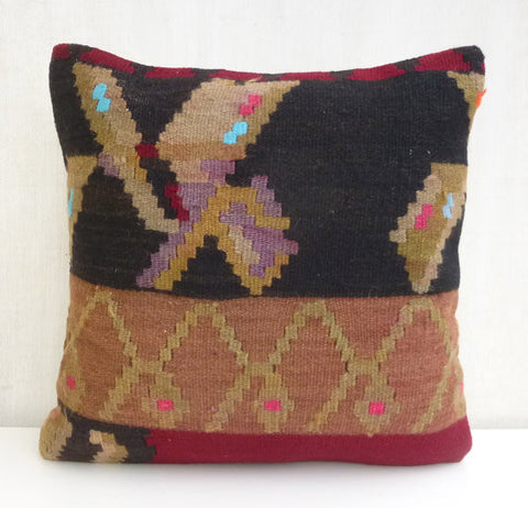 Unique Kilim Pillow cover - Sophie's Bazaar - 1