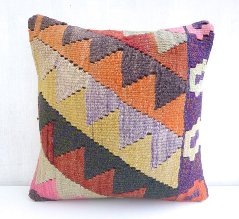 Decorative Kilim pillow - Sophie's Bazaar - 1