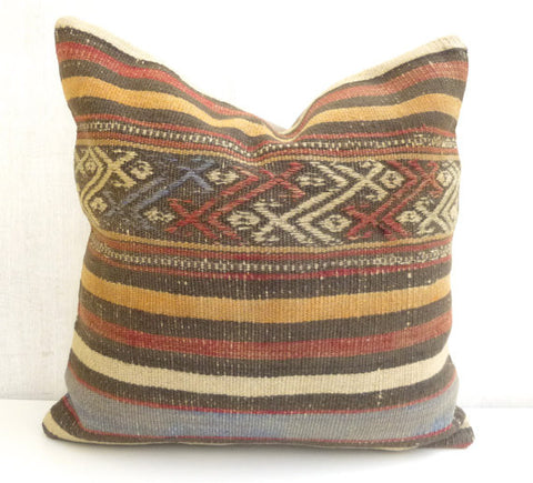 Decorative Kilim cushion cover - Sophie's Bazaar - 1