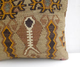 Unique Kilim Throw Pillow - Sophie's Bazaar - 2