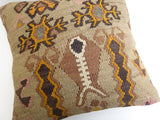 Unique Kilim Throw Pillow - Sophie's Bazaar - 5