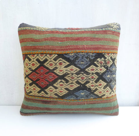 Decorative Ethnic Kilim Pillow - Sophie's Bazaar - 1