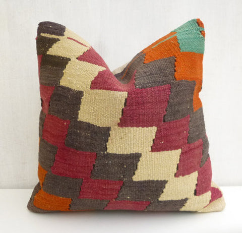 Chevron Kilim Pillow cover - Sophie's Bazaar - 1