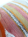 Large 24' Kilim Floor Pillow 60x60 cm - Sophie's Bazaar - 5