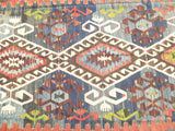 "Gorgeous Turkish Kilim Area rug 11' x  5'18"" - Sophie's Bazaar - 2"