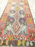 "Gorgeous Turkish Kilim Area rug 11' x  5'18"" - Sophie's Bazaar - 5"