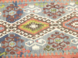 "Gorgeous Turkish Kilim Area rug 11' x  5'18"" - Sophie's Bazaar - 3"