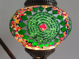 Swan neck Turkish Mosaic Lamp - Sophie's Bazaar - 4