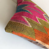 Colorful Kilim Pillow cover - Sophie's Bazaar - 5