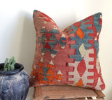 Ethnic Kilim Pillow cover - Sophie's Bazaar - 1