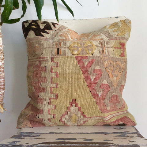 Ethnic Decorative Kilim Pillow - Sophie's Bazaar - 1