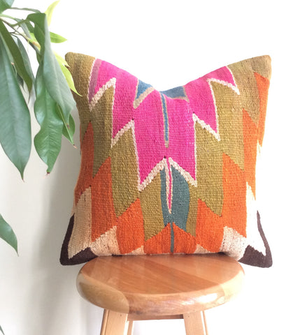 Colorful Kilim Pillow cover - Sophie's Bazaar - 1