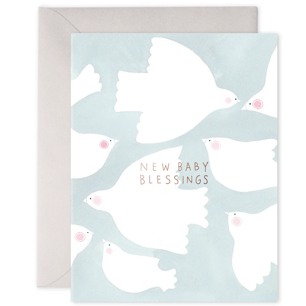 new baby blessings card