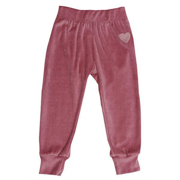 cozy time velour jogger berry 2