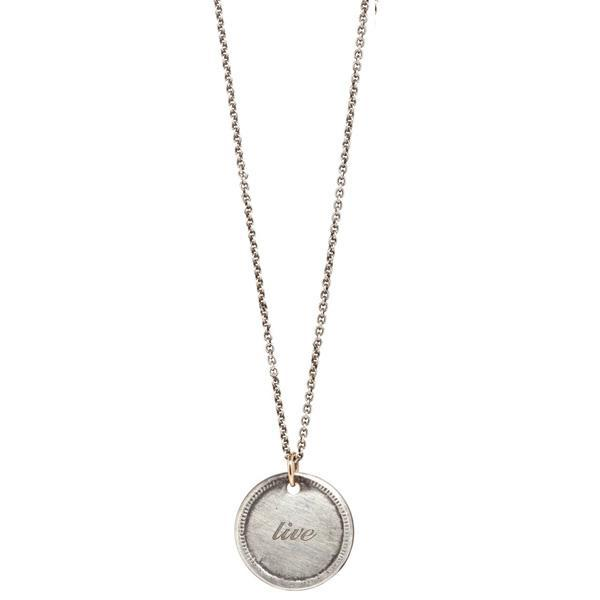 workhorse ss caprice live/learn coin necklace