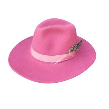 dallas fedora desert rose medium