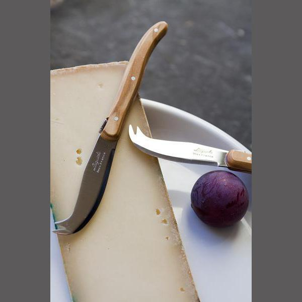 Olive Wood Mini Fork Tipped Cheese Knife