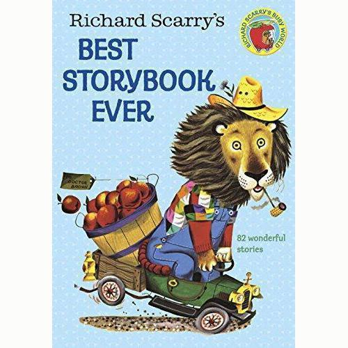 Richard Scarry's Best Storybook Ever-Books - Children's Books-Burro