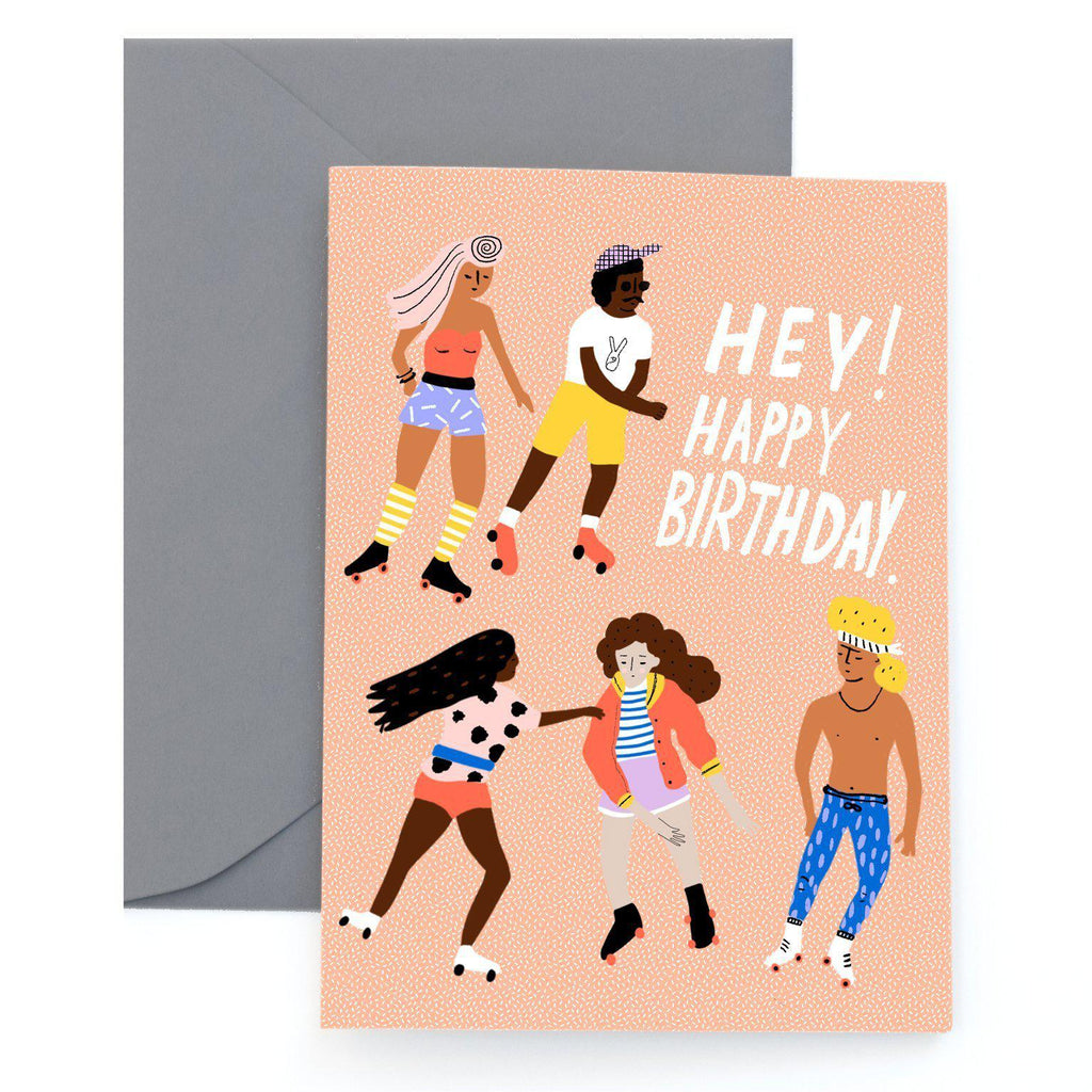 rollin birthday card