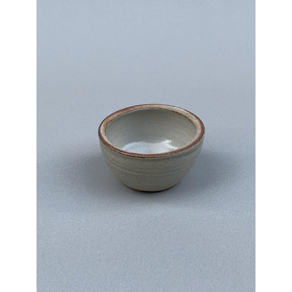 Smudge Bowl Wood Fired Piker White