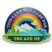 This Land Pin-Accessories - Patches + Pins-Burro