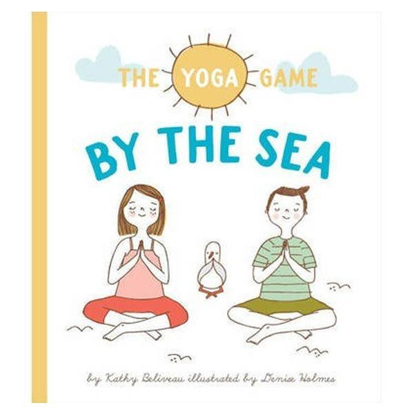 yoga game by the sea
