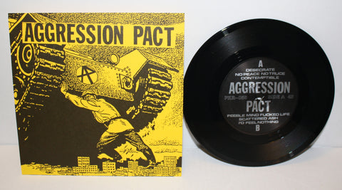 Aggression Pact - S/T 7""