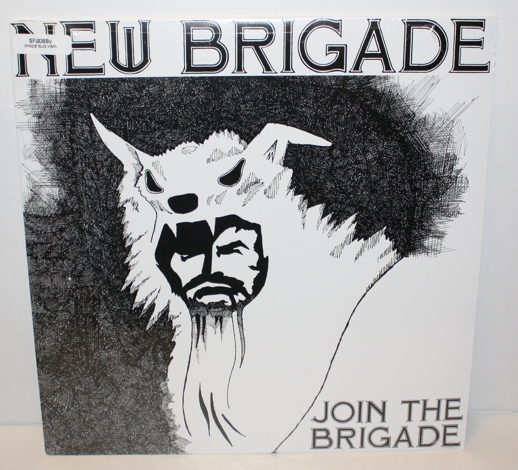 New Brigade - Join The Brigade LP (Opaque Blue/110) Last Copy