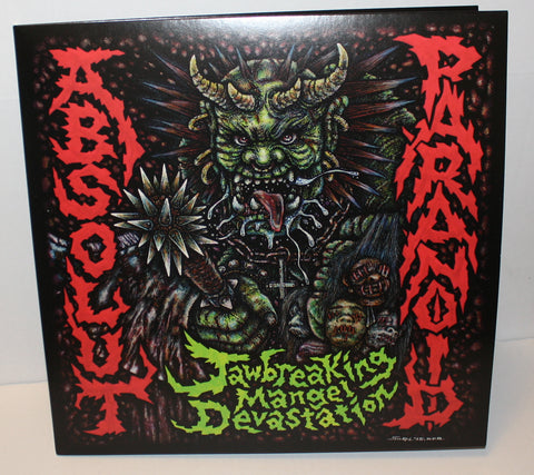 "Absolut / Paranoid - Jawbreaking Mangel Devastation Split 12"" (Black/400)"