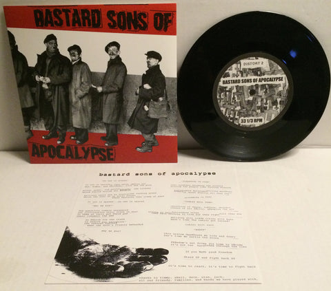 "Bastard Sons Of Apocalypse - S/T 7"" (Used)"