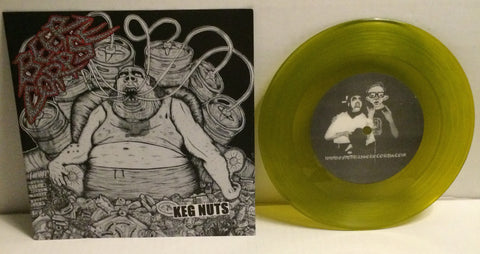 "Beer Corpse - Keg Nuts 7"" (Yellow/100) Used"