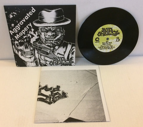 "Big Cheese - Aggravated Mopery 7"" (Black/700) Import"