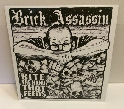 Brick Assassin - Bite The Hand That Feeds LP (Black/300)