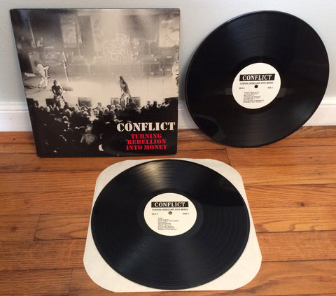 Conflict - Turning Rebellion Into Money 2xLP (Used)
