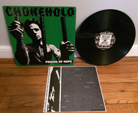Chokehold - Prison Of Hope LP (Green cover/1100) Used