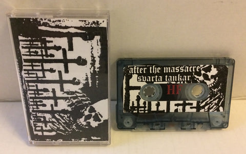 After The Massacre / Svarta Tankar ‎– Welcome To The Hellhole Split CS (Bootleg) Used