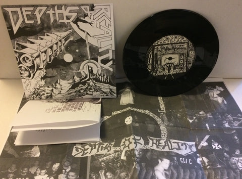 "Depths Of Reality - S/T 7"" (Black/900)"