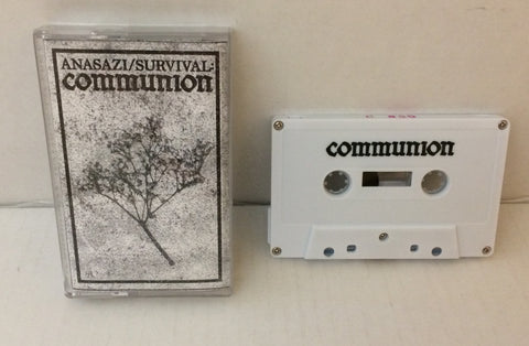 Anasazi / Survival - Communion CS (UK Press/50) Used