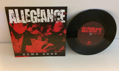 "Allegiance - Demo 2002 7"" (Black/400) Used"