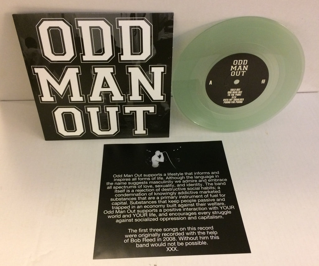 "Odd Man Out - S/T EP 7"" (2nd Press Clear/150)"