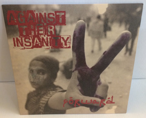 Forward - Against Their Insanity LP (Red/200) Used