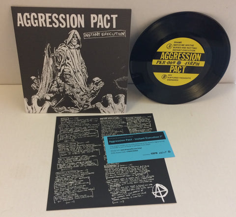 "Aggression Pact - Instant Execution 7"" (Black/500)"