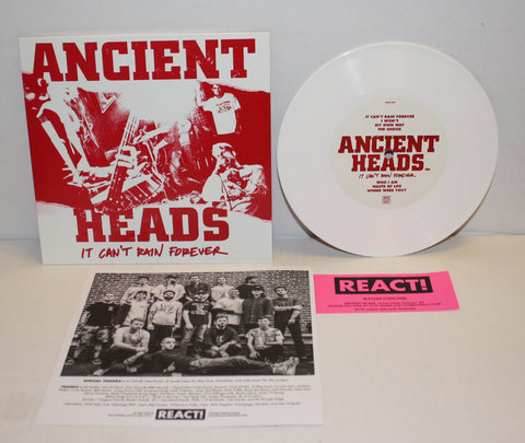 Ancient Heads - It Can't Rain Forever 7""