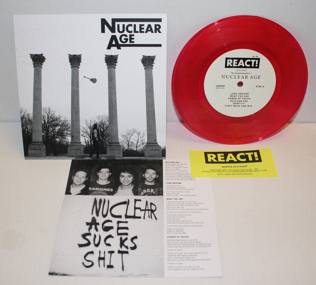 Nuclear Age - The Distinct Sounds Of... 7""
