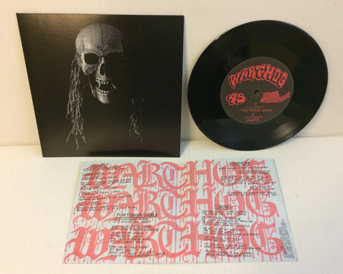 "Warthog - S/T 7"" (2nd Press Red Labels/500)"