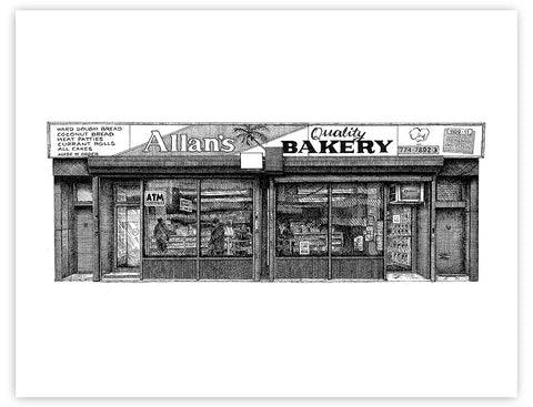 Little Caribbean Storefronts: Allan's Bakery